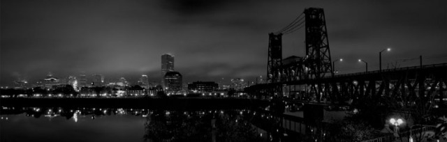 PDX at Night